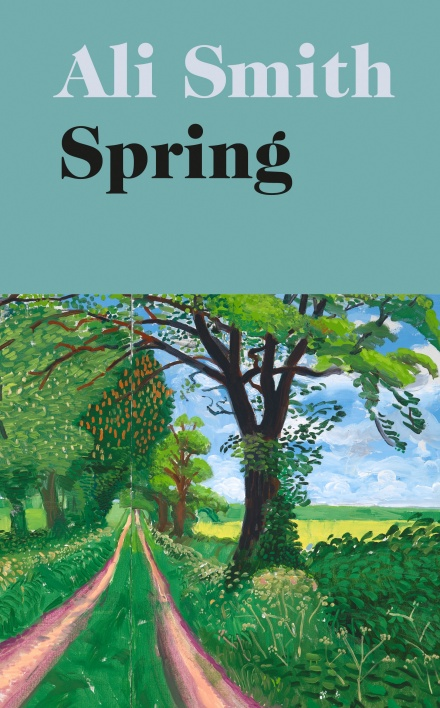Book cover for Spring by Ali Smith.