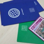 A selection of playing cards from the SDG2030 Game.